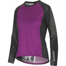 assos Trail - Maillot manches longues Femme - violet/noir